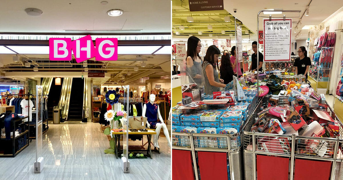 BHG Bishan having a toy buffet sale that lets you 'Grab All You Can' in a bag for $8 till Feb 17