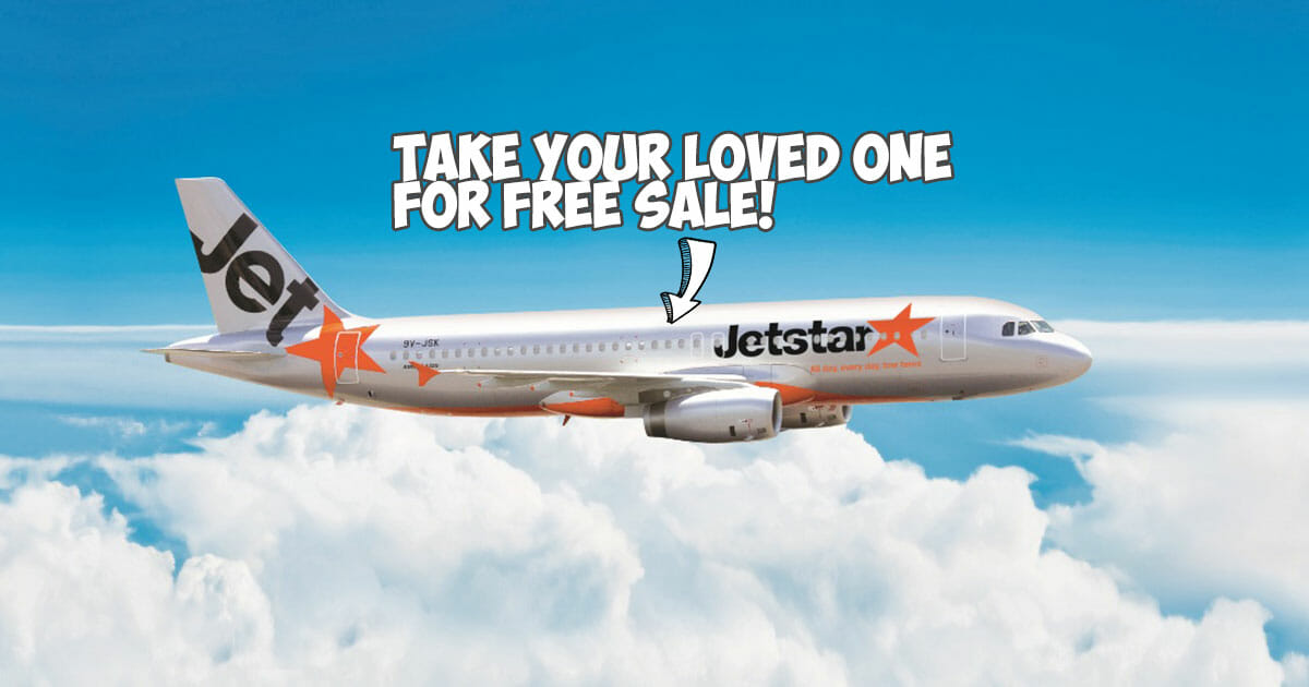 Jetstar is having a Valentine's Day Sale which is basically a 1-for-1 to Phuket, Bangkok, Bali, Taipei & more