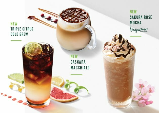 Starbucks S Pore Launches 3 New Coffee Drinks This February