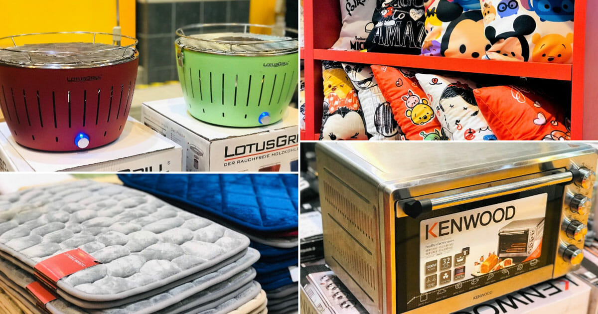 Takashimaya's Home Living Clearance Sale has Disney beddings, kitchen appliances, cooking & tableware at up to 70% off