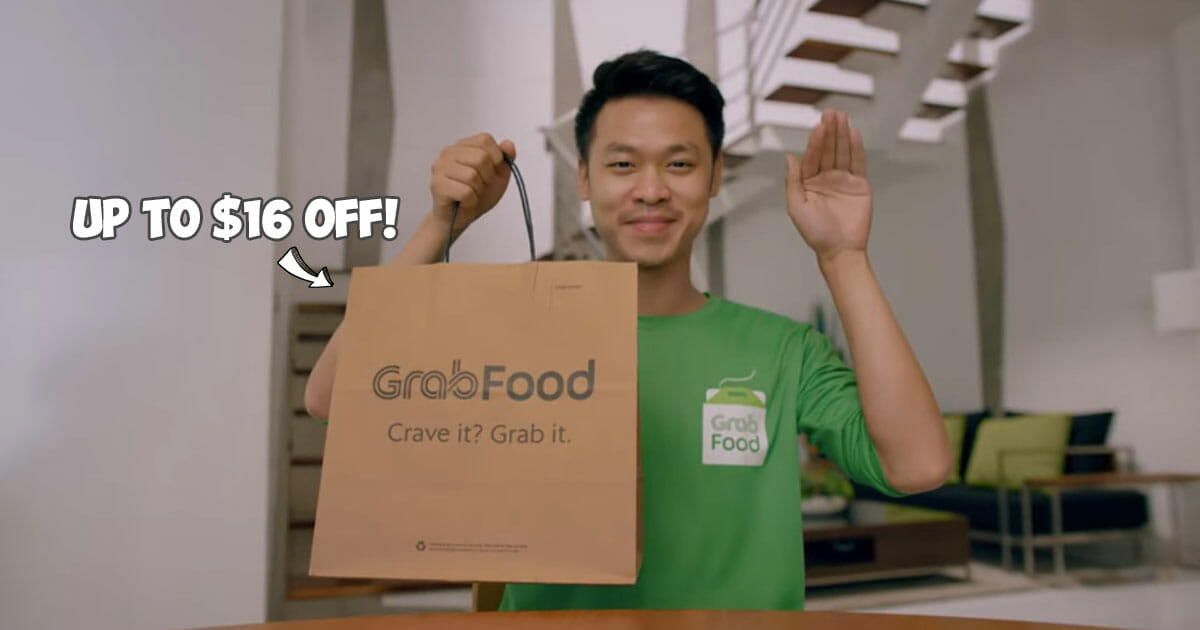 6 new GrabFood Promo Codes for discounts up to $16 to use on your orders valid till March 3