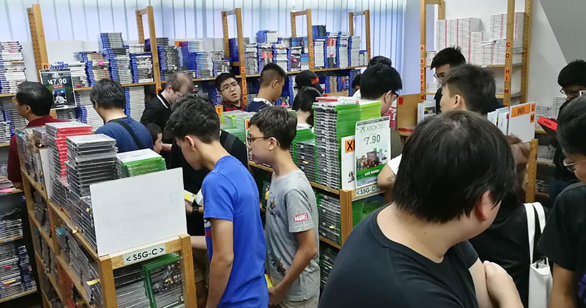 Video Game Warehouse Sale at Bukit Batok has PS4 and Nintendo Switch titles going as low as $7.90
