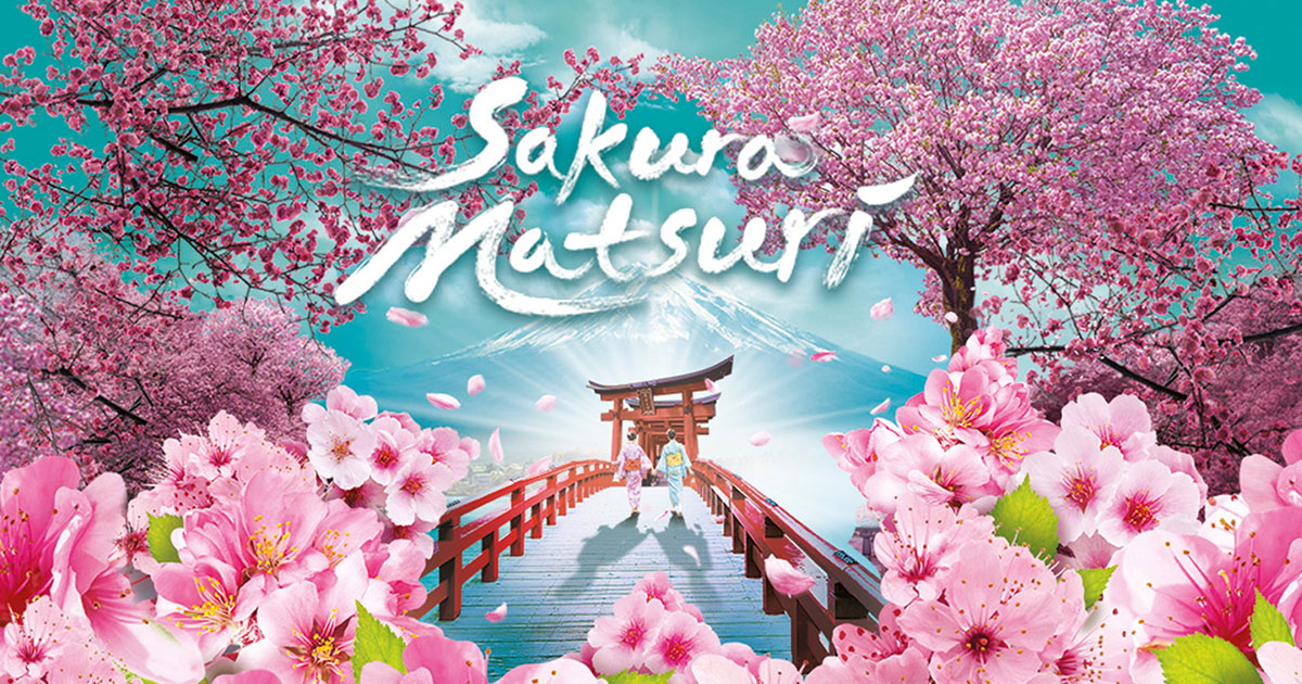 Sakura Matsuri 2019 at Gardens by the Bay will feature Torii Gates and over 20 Varieties of Cherry Blossoms