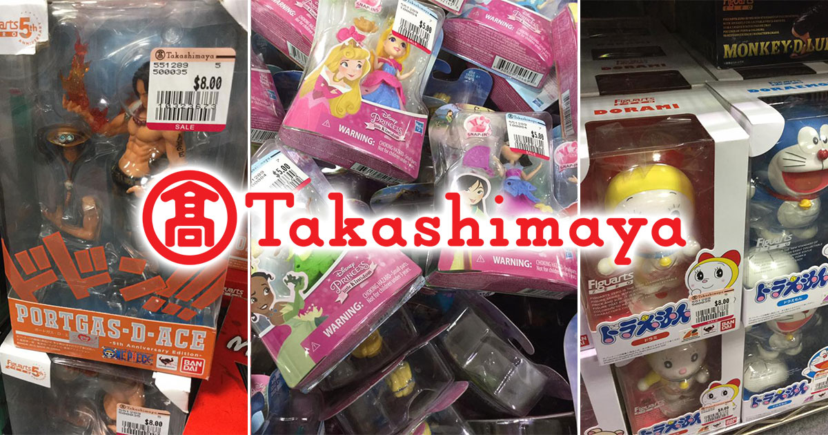 Collectible Toys Fair at Takashimaya has toys from One Piece, Pokémon, Star Wars, Transformers, and more at up to 70% off