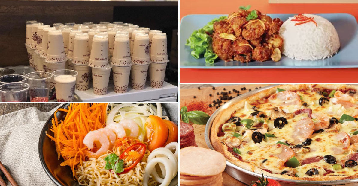 Promo codes for GrabFood $1 Deals are in. Enjoy $1 Sarpino's Pizza, Thai Food, Milk Tea & more till Mar 31