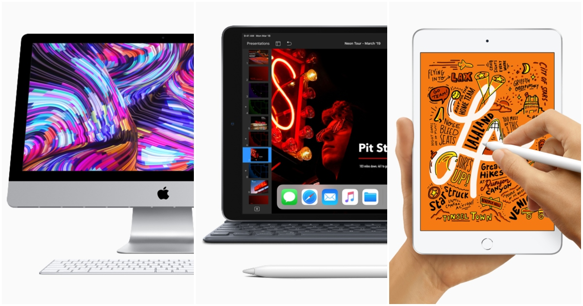 Apple just updated the iMac, iPad Air and iPad Mini. Here are their new specs and prices in Singapore