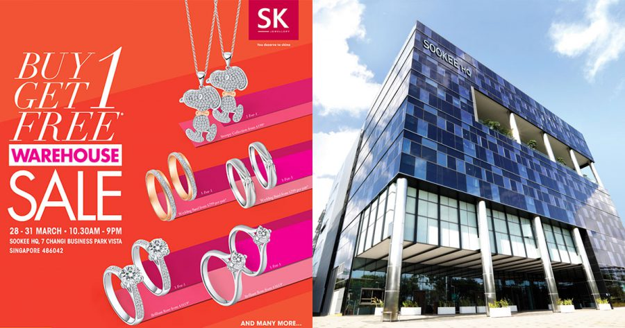 SK Jewellery To Hold Its Biggest Warehouse Sale At Their