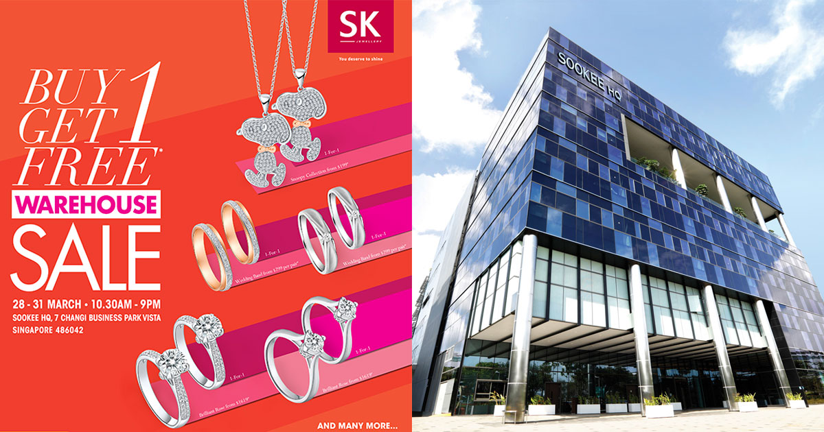 SK Jewellery to hold its Biggest Warehouse Sale at their HQ Building in  Changi from March 28 5f1502250