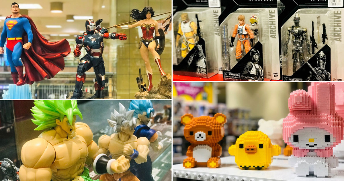 Last chance to grab your favourites at Takashimaya Collectible Toys Fair with up to 70% off ending on March 26