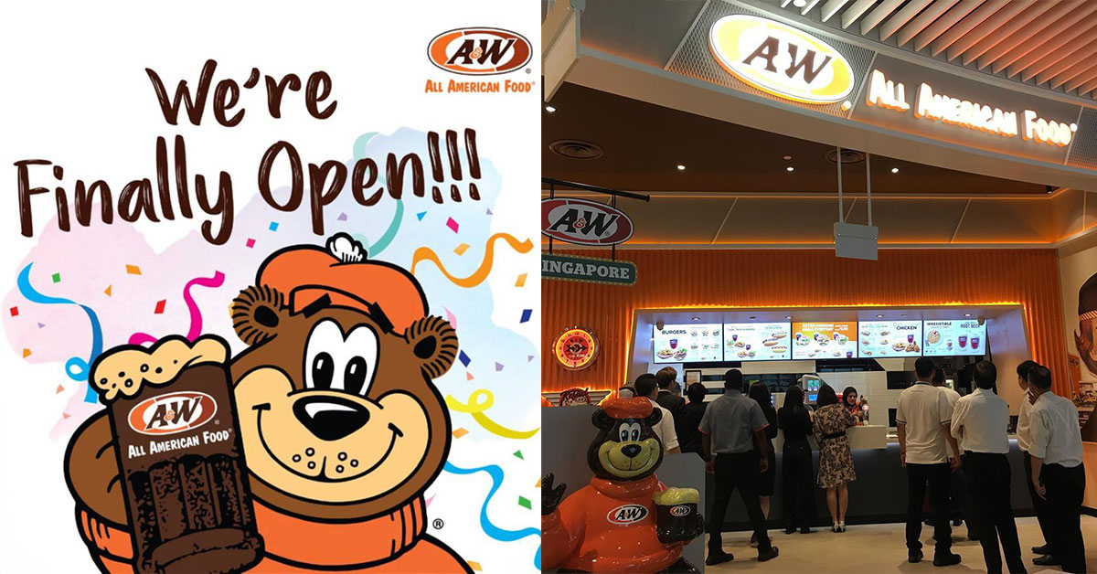 A&W Restaurant in Jewel Changi Airport will open 24 hours daily and Halal-certified