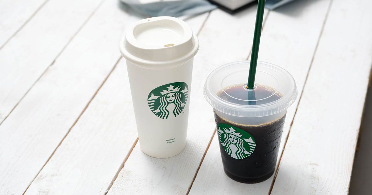 Starbucks S'pore now selling Reusable Hot & Cold Cups from S$3.90 because #EarthDay is here
