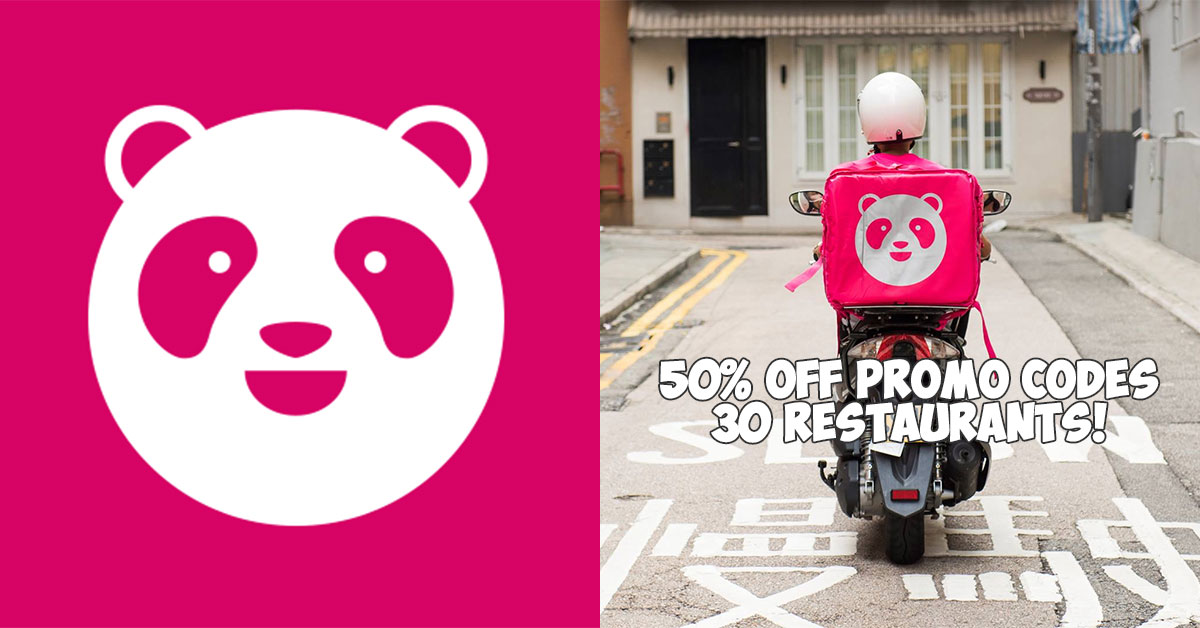 These FoodPanda Promo Codes let you enjoy 50% off 30 restaurants and F&B merchants till April 30