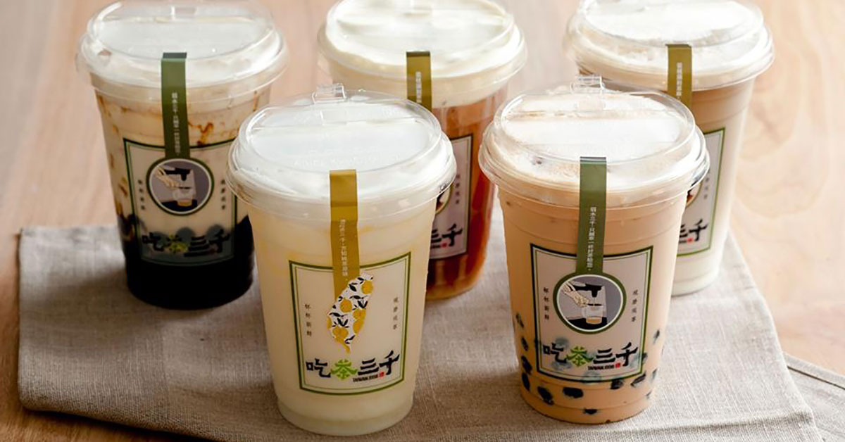 Another famous Taiwanese bubble tea chain ChiCha San Chen (吃茶三千) opening 1st outlet in S'pore on May 14