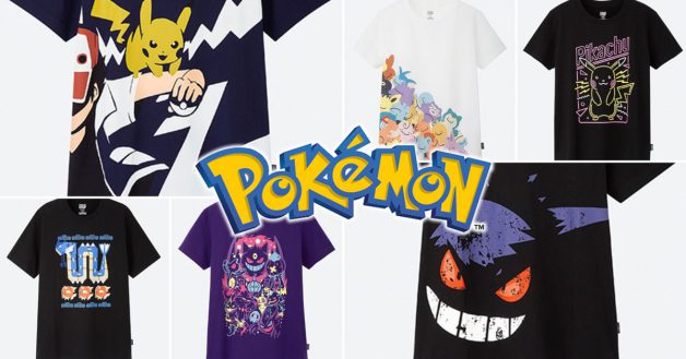 cdb2e429 Uniqlo x Pokémon T-Shirts designed by artists around the world are coming  to Singapore this June