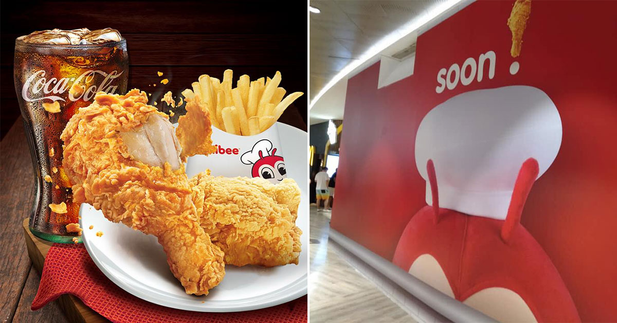 Jollibee S'pore's new outlet at Punggol Waterway Point will be opening soon