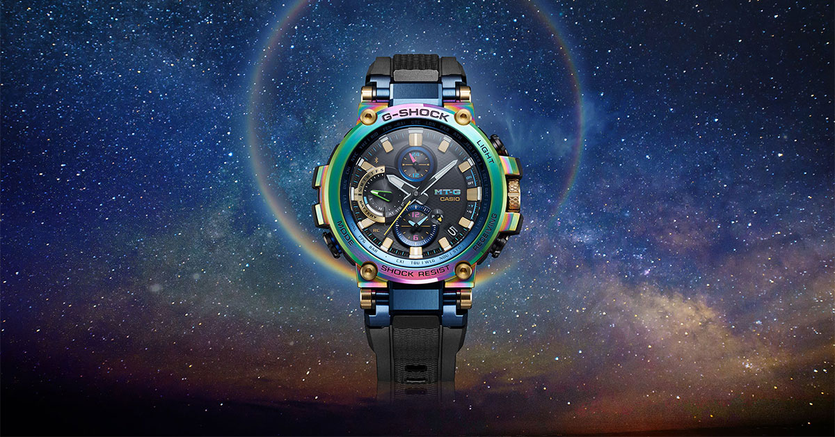 Casio G-Shock Limited Edition MT-G Lunar Rainbow will be available in stores at S$1,499 on May 24