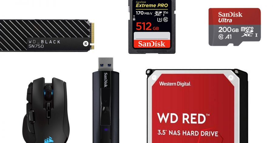 Lots of PC storage products & accessories are getting huge discounts on Amazon till May 29