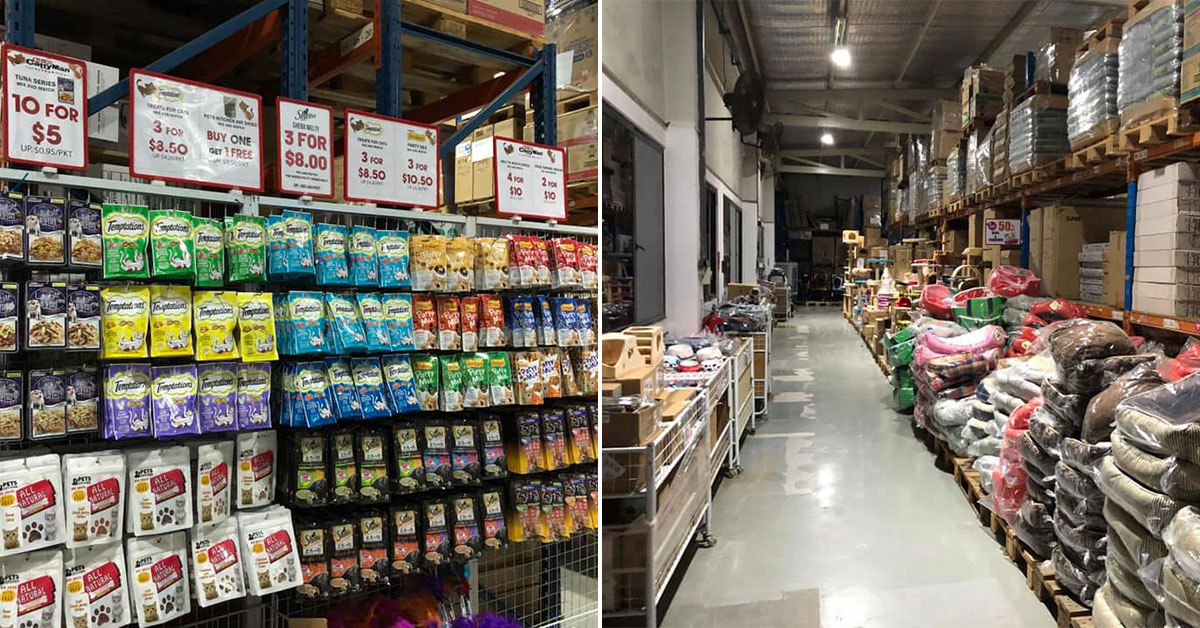 Pets' Station Warehouse Sale in Woodlands has thousands of pet food & products on sale up to 80% off till June 2