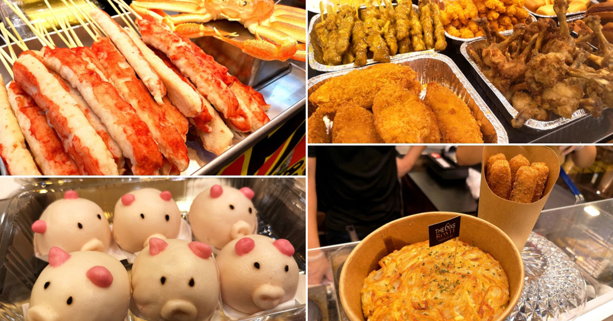 Takashimaya has an Artbox-style Food Fiesta that features goodies from Japan, Korea, Taiwan & more