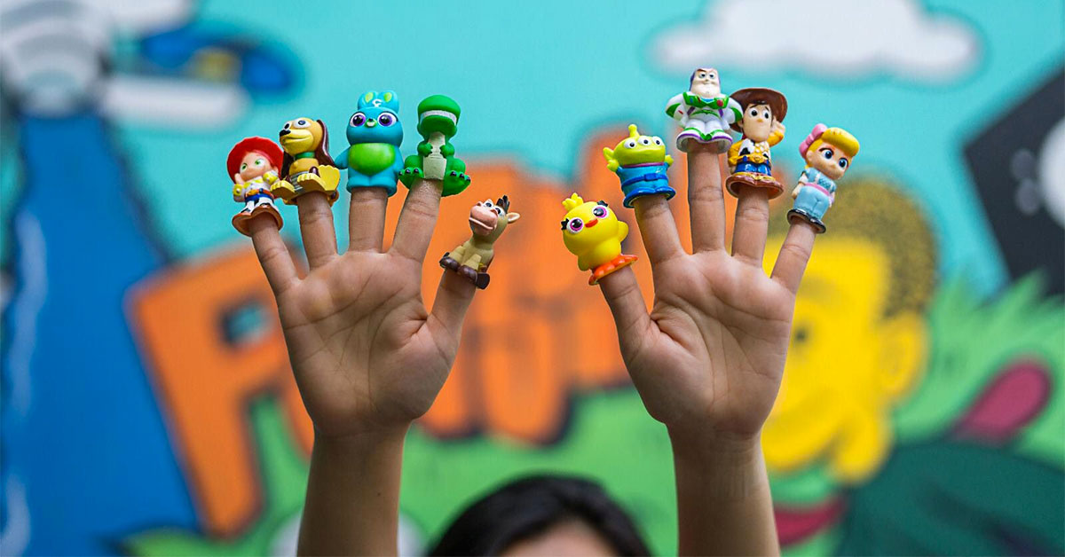 Super cute Toy Story 4 Finger Puppets will be available at GV Cinemas from June 13