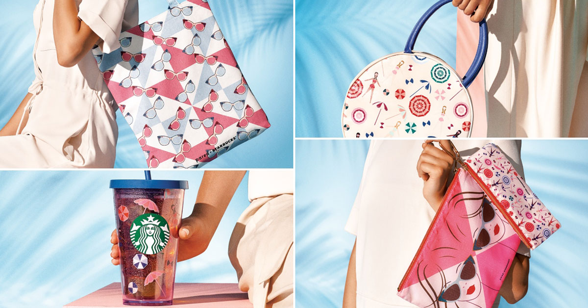 Starbucks x Pared Eyewear merch are coming on June 25 including a stylish Tote and Lunch Bag