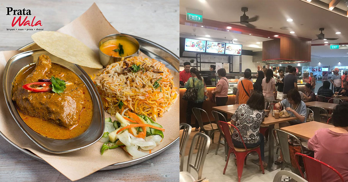 1-for-1 Curry Chicken Biryani at Prata Wala on June 26 means you pay just $4.25 per plate