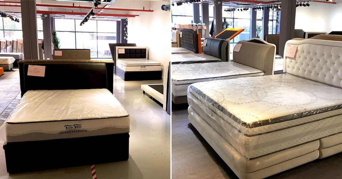 Four Star GSS Warehouse Sale in Eunos this weekend has King & Queen-sized mattresses from S$299