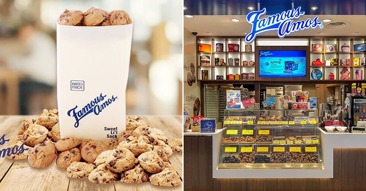This online offer lets you buy up to 500g of Famous Amos Cookies for 35% cheaper than usual price