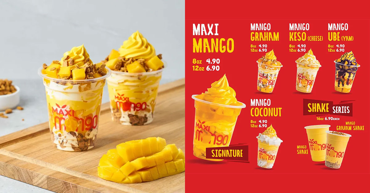 Enjoy 50% off Maxi Mango soft serve desserts when it opens on August 2 with this Promo Code