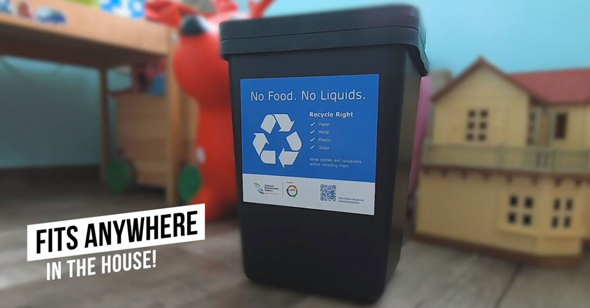 IKEA S'pore is giving away free Recycle Bins to new BTO homeowners to encourage household recycling