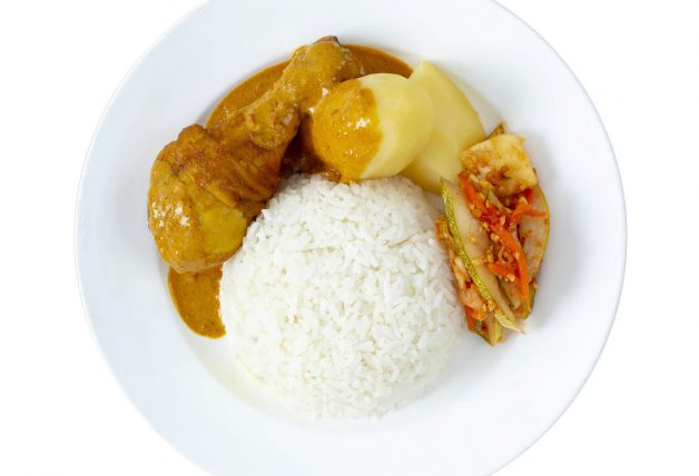 Curry Chicken Set
