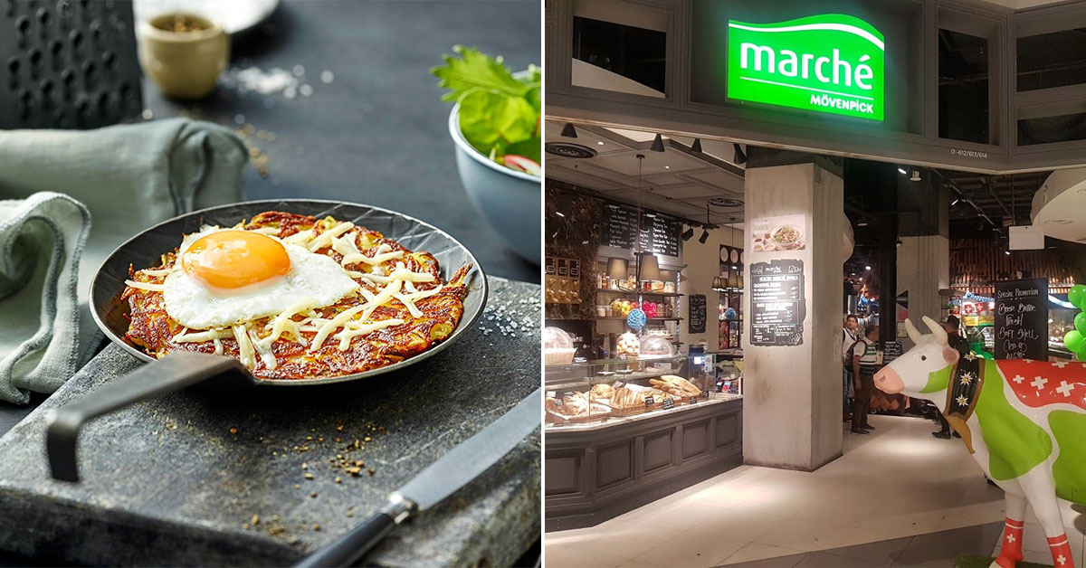 Marché Restaurants in S'pore offering 20% off their Swiss Rösti dishes from now till end-October