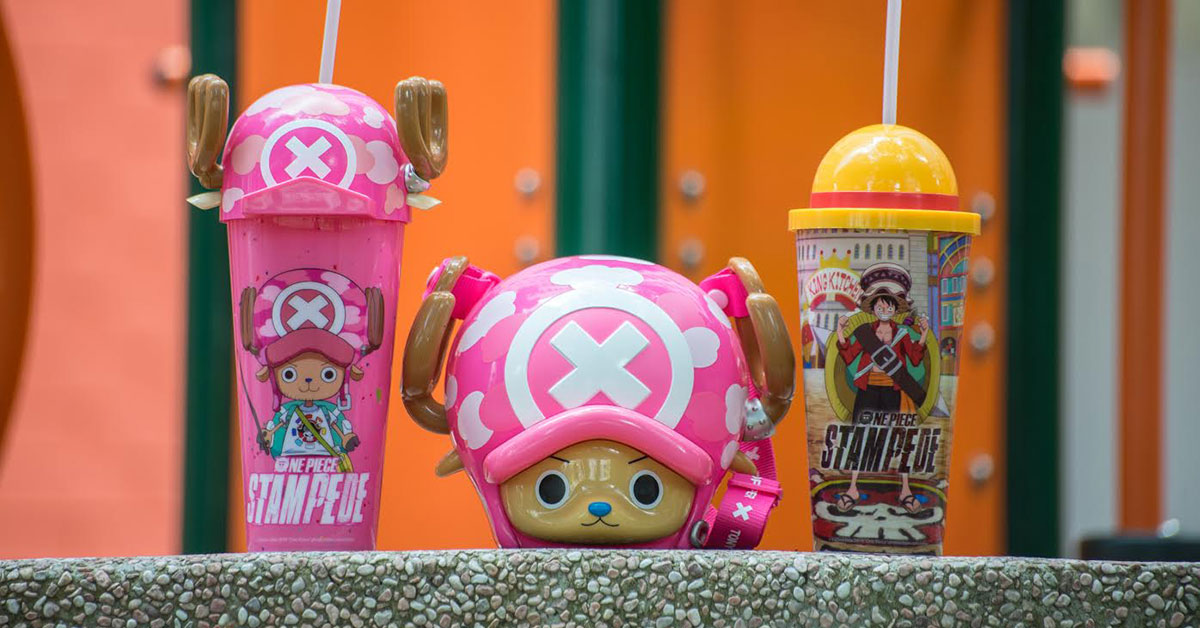 GV Cinemas to release One Piece Stampede Collectible Cups & Chopper Popcorn Bucket from August 31