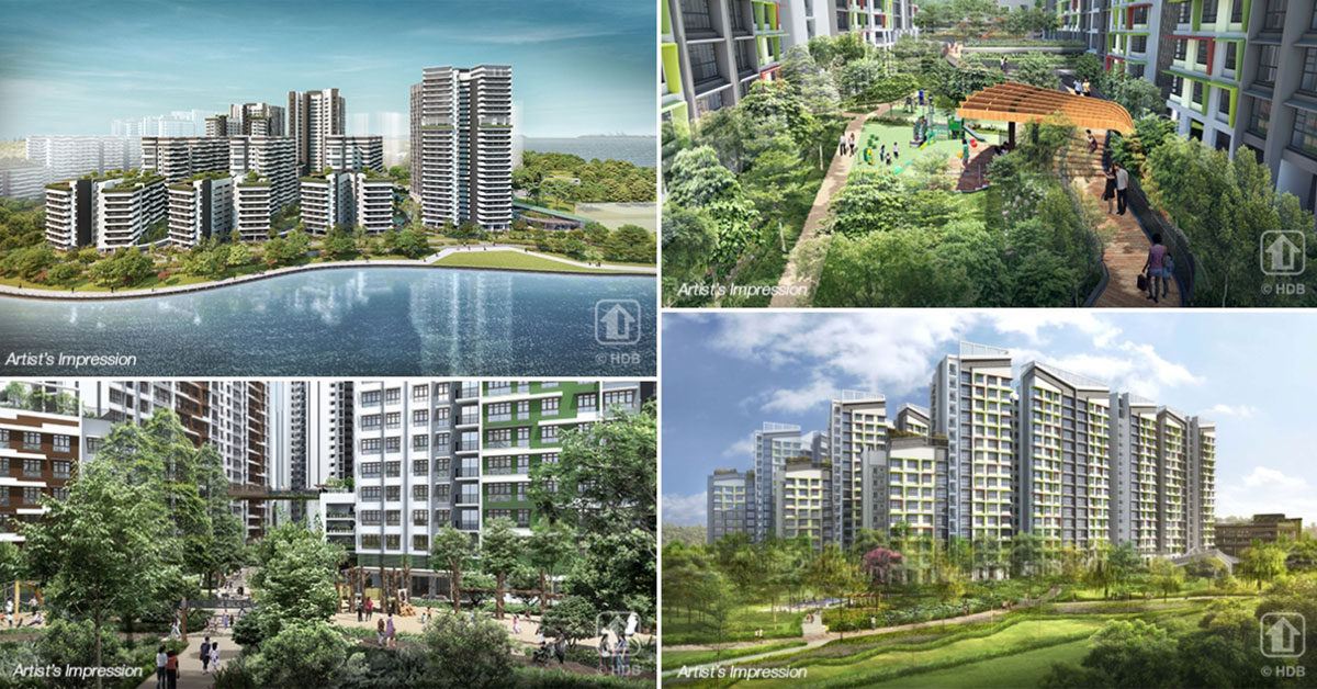 HDB launches over 3,300 BTO units in Punggol & Tampines, right after $80k grant for first-timers announced