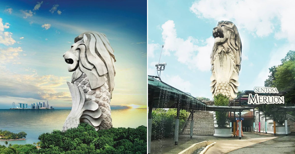 Last chance to visit Sentosa Merlion with Free Entry for Seniors and 50% Off for Local Residents
