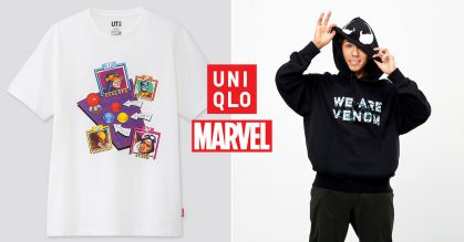 Uniqlo S'pore launching new Marvel Retro Gaming t-shirt & hoodie collection from Sept 30