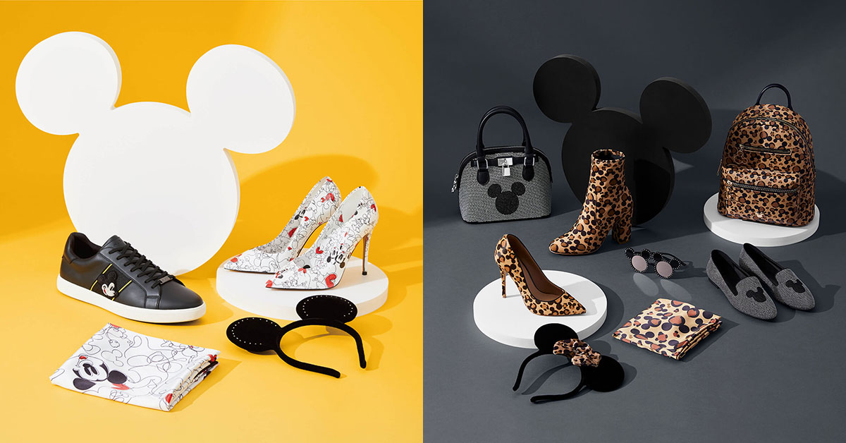 ALDO new collab collection featuring Disney's Mickey & Minnie Mouse now available in Singapore