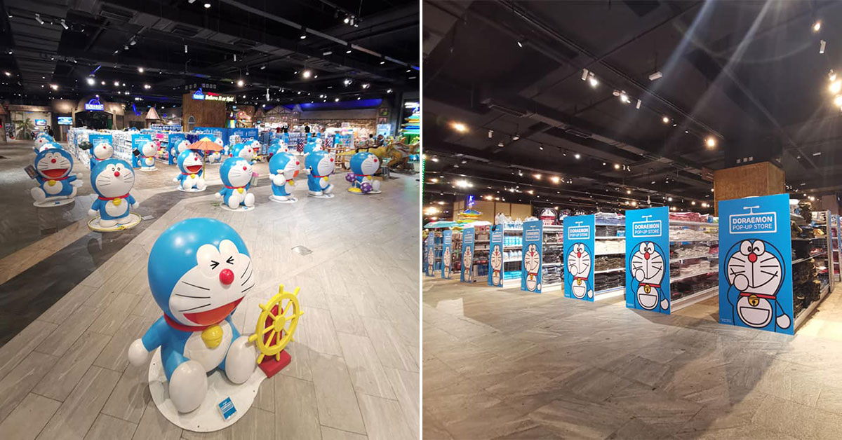 Huge Doraemon Pop-up Store in Genting Highlands has over 500+ types of exclusive merch on sale till Jan 2020