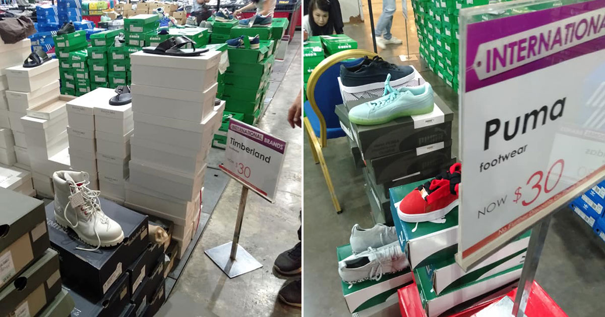 Robinsons Expo Sale till Nov 3 has Adidas, PUMA & Timberland boots and sneakers as cheap as $30/pair