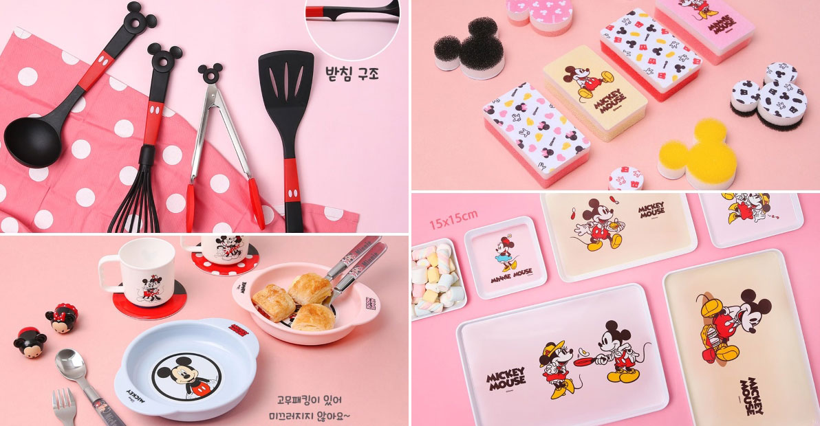 Daiso Korea launches new Disney Series of kitchen accessories & tableware we wished S'pore stores stocks them