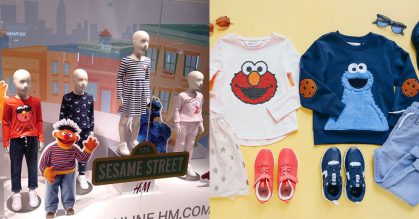 Sesame Street-themed clothing for men, women & kids now available in H&M S'pore stores