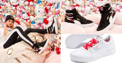 PUMA sneakers & apparels featuring Hello Kitty designs now available in Singapore