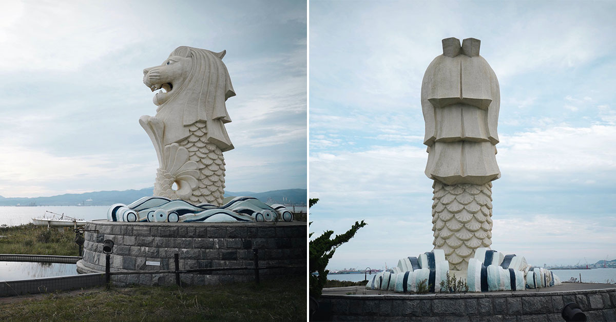 Singapore Merlion has a sibling statue located in Hokkaido, Japan you probably didn't know