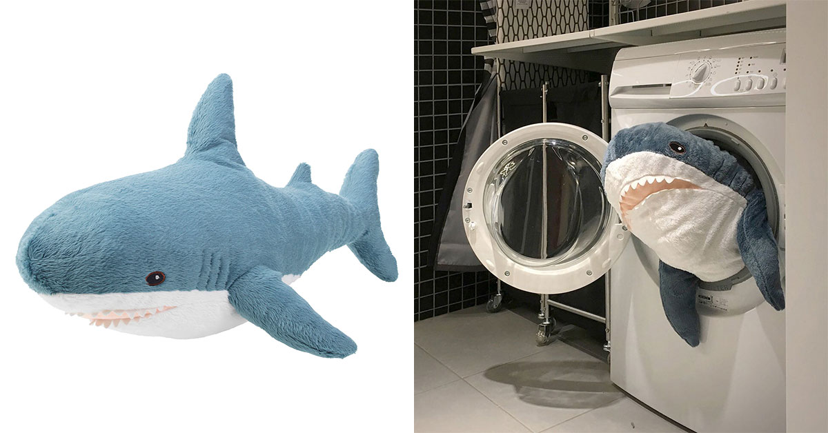IKEA's crazy popular BLÅHAJ Shark Toy now available in S'pore from $12.90 online and in stores