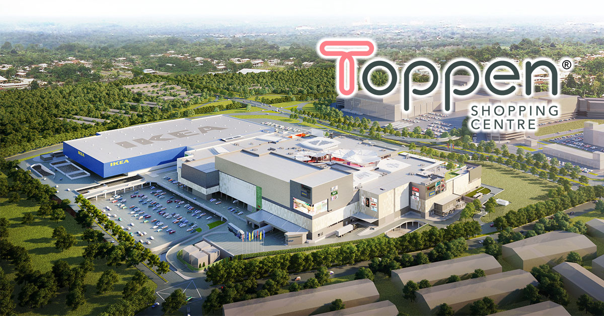 New Toppen Shopping Centre with rooftop hub opens in JB, even has an IKEA mall connected to it