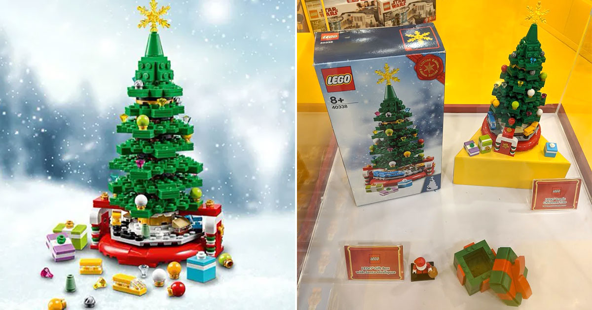 There's a LEGO Christmas Tree you can get for free with minimum spend at Bricks World stores from Nov 28