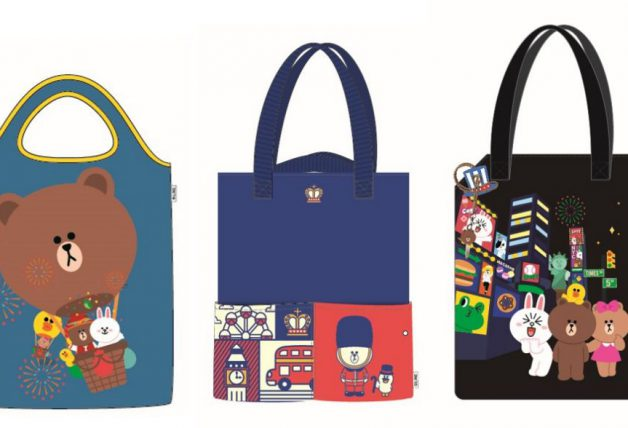 LINE Friends Tote Bags