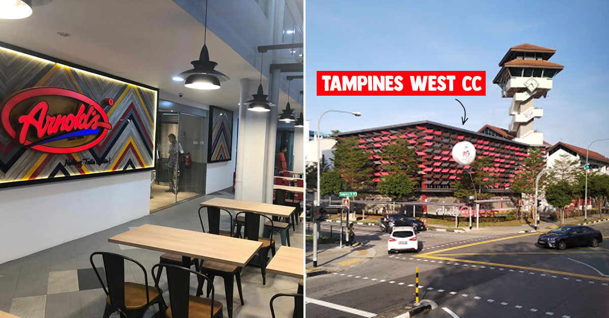 Arnold's Fried Chicken confirms new Tampines West CC outlet opening on Dec 5