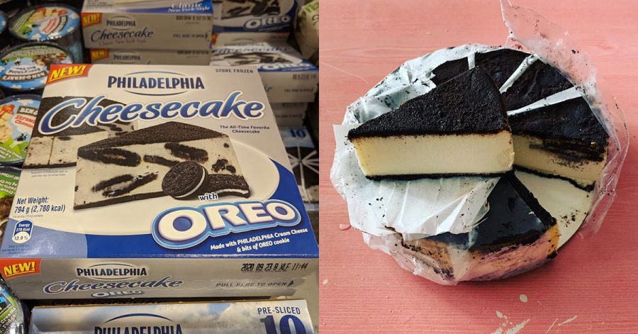 Philadelphia Cheesecake with Oreo Cookie now selling at Cold Storage & Redmart for $18.80 each