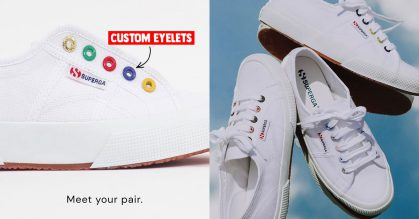 Superga S'pore now lets you customize canvas shoes at $95/pair available till Jan 1